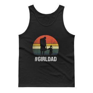 Girl Dad Sunshine Vintage Tank Top