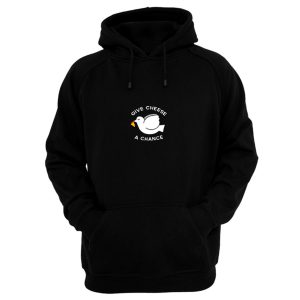 Give Cheese A Chance Peace Hoodie