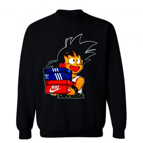 Goku Get Shoes Sweatshirt