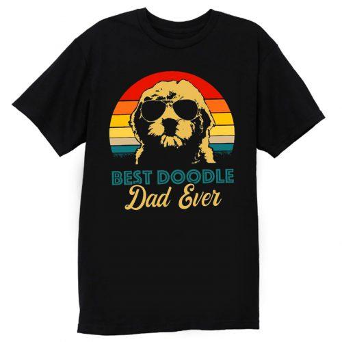 Golden Doodle Best Doodle Dad Ever Funny T Shirt