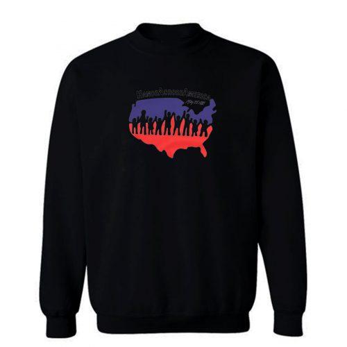 Hand Across America Sweatshirt