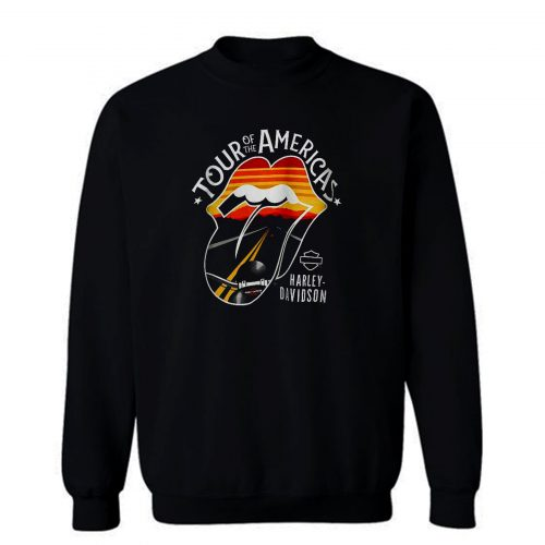Harley Davidson Rolling Stones America Tour Sweatshirt