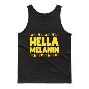 Hella Melanin Black Lives Matter Pride Tank Top