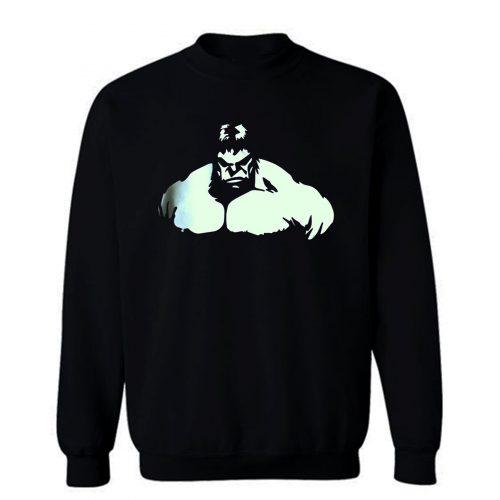 Hulk Muscle Body Building Gym Sweatshirt