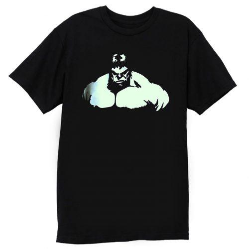 Hulk Muscle Body Building Gym T Shirt
