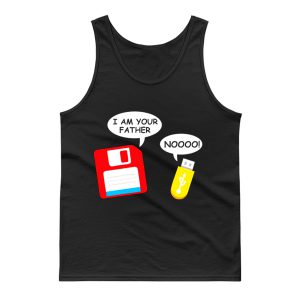 I Am Your Father Funny Computer Geek Tank Top
