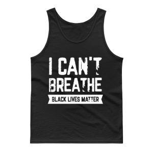 I cant Breathe Black Lives Matter Spirit Pride Tank Top