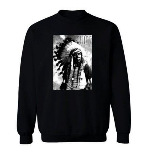 Indians Chief American Hipster Sweatshirt