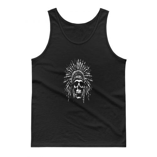 Indians Skull Natives Tank Top