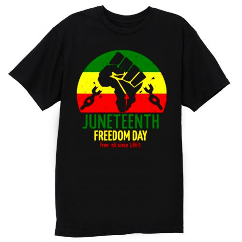 Juneteenth Freedom Day Free Ish Since 1865 T Shirt