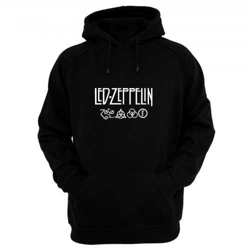 Led Zeppelin Classic Rock Band Hoodie