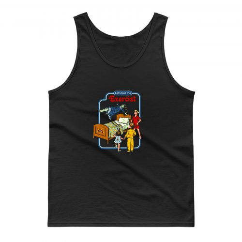 Lets Call The Exorcist Tank Top