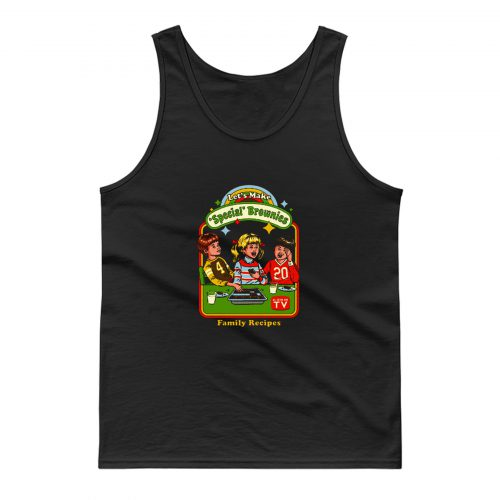 Lets Make Specials Brownies Family Recipes Tank Top