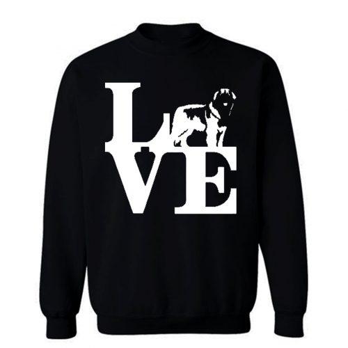 Love Leonberger Dog Lover Sweatshirt