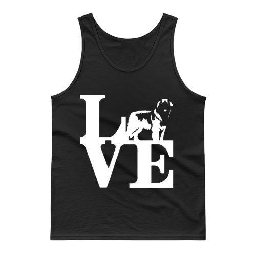 Love Leonberger Dog Lover Tank Top