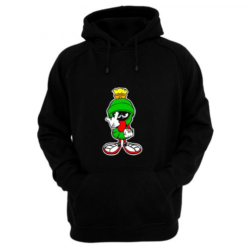 MARVIN THE MARTIAN Showing Midle Finger Hoodie