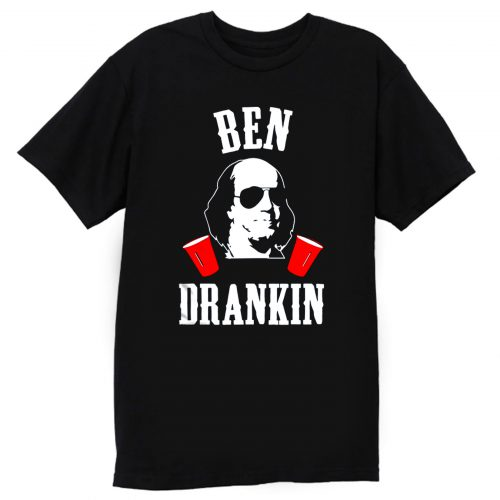MOUNT SLOSHMORE 4th of July Ben Drankin T Shirt