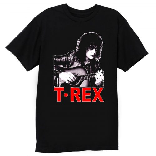 Marc Bolan T Rex Slider English Guitar T Shirt