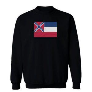 Missipi Flag Sweatshirt
