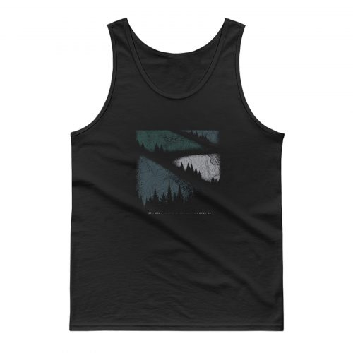 Mountain Graphic Vintage Outdoors Tank Top