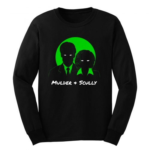 Mulder and Scully X Files Long Sleeve