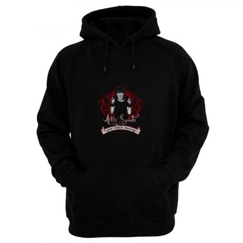 NCIS Abby Goth Crime Fighter Hoodie