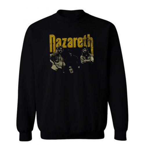 Nazareth Rock Band Sweatshirt