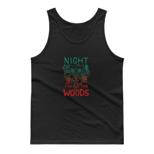 Night In The Woods Vintage Tank Top