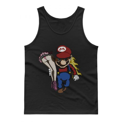 Nintendo Mario and Peach Tank Top