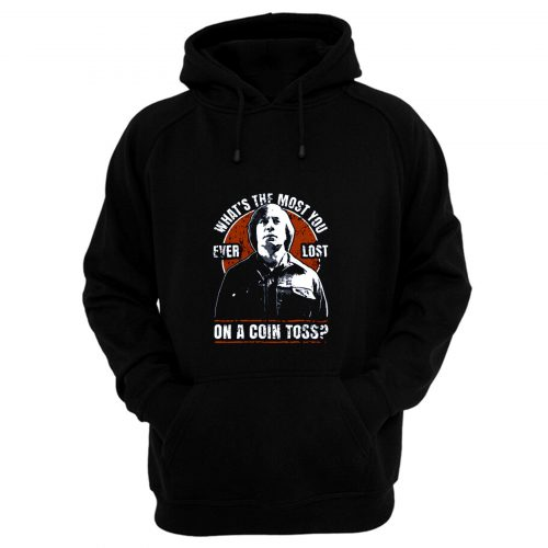 No Country For Old Men Anton Chigurh Coin Toss Western Crime Thriller Film Hoodie