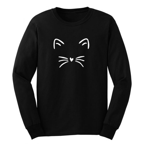 Not Eyes Cat Long Sleeve