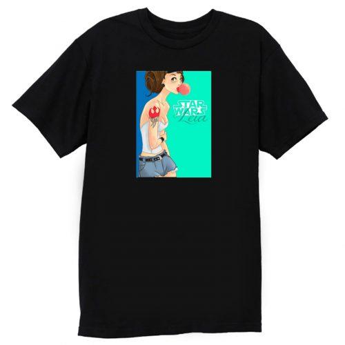 Princess Rebel Leia Hipster Gum T Shirt