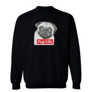 Pug Life Retro Sweatshirt