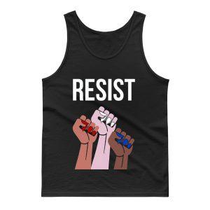 Reistst Womens Fists Political Tank Top