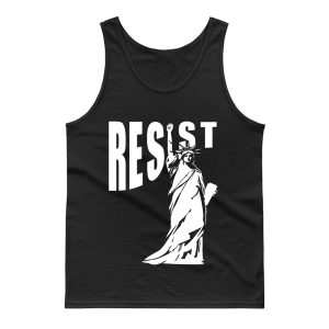 Resist Liberty Statue Tank Top