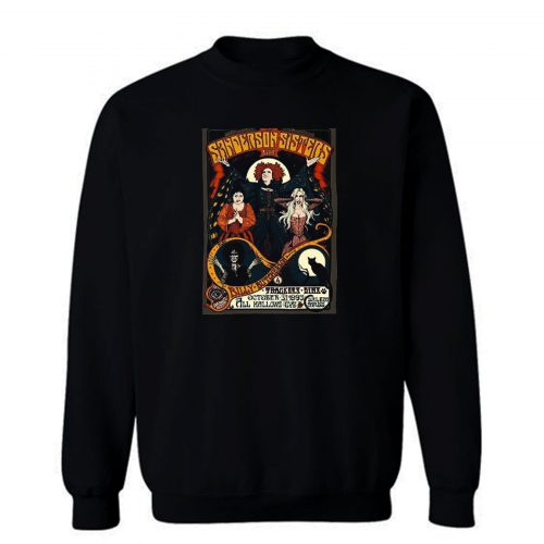 Sanderson Sisters Retro Sweatshirt