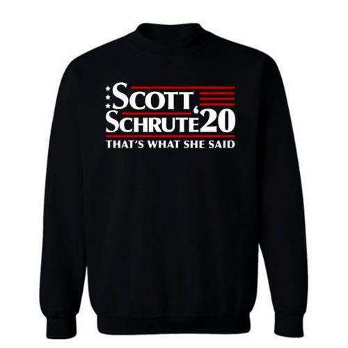 Scott Schrute 2020 The Office Sweatshirt
