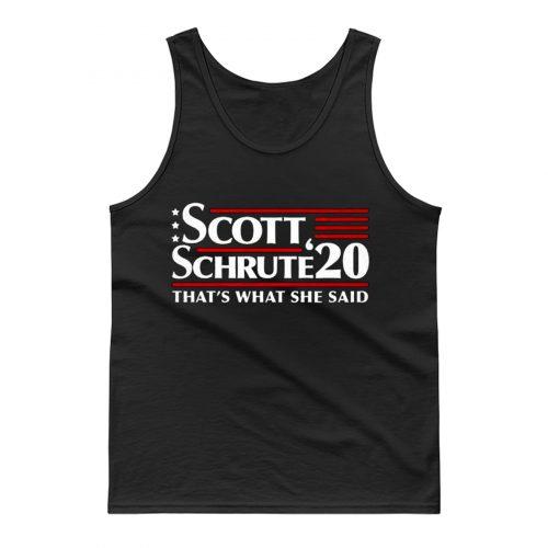 Scott Schrute 2020 The Office Tank Top