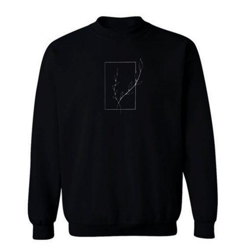 Simple Nature Graphic Sweatshirt