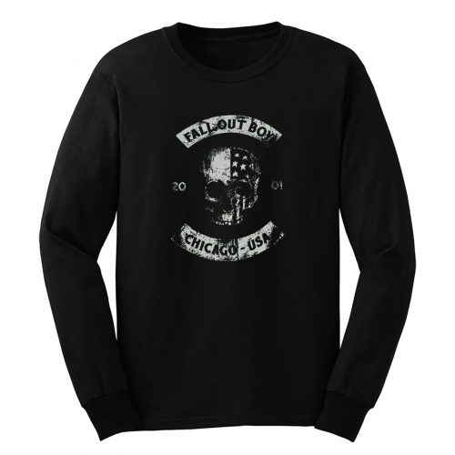 Since 2001 Chicago Usa Fall Out Boy Long Sleeve