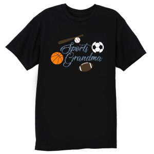Sports Grandma Baseball Basketball Football Lover T Shirt