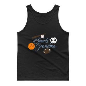 Sports Grandma Baseball Basketball Football Lover Tank Top