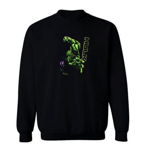 Strong Heroes Hulk The Beast Sweatshirt