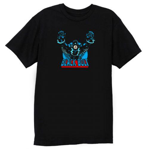Superhero Comic Retro Black Bolt T Shirt