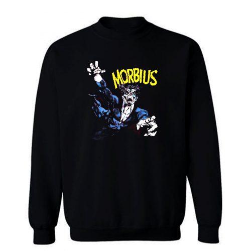 Superhero Vampire Villains Morbius Sweatshirt
