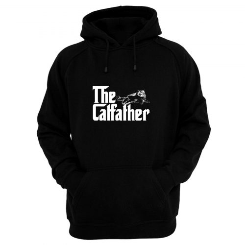 The Catfather Funny Cat Lover Hoodie