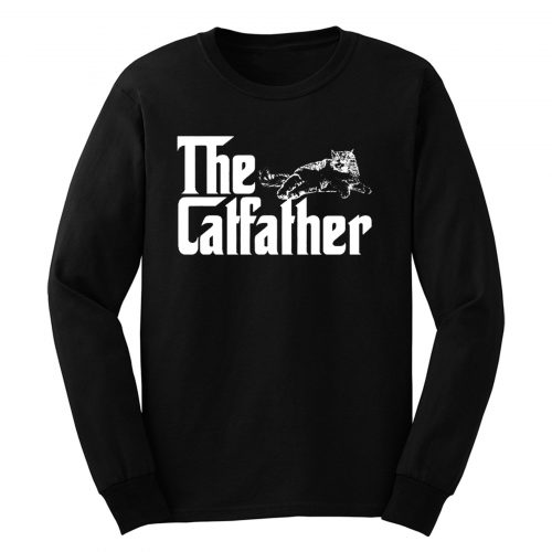 The Catfather Funny Cat Lover Long Sleeve