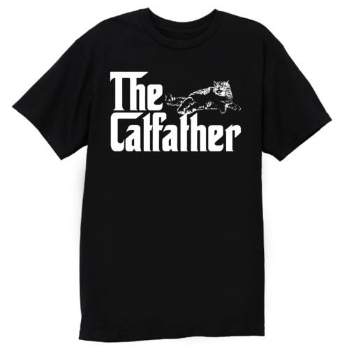 The Catfather Funny Cat Lover T Shirt