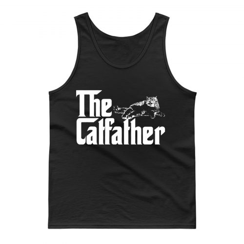 The Catfather Funny Cat Lover Tank Top