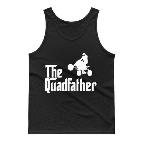 The Quadfather Funny ATV Quad Bike Rider Tank Top